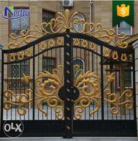 AHUBE Home furnish : Beautiful Residential Wrought Iron Gate