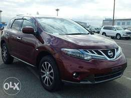 Maroon colour: Nissan Murano: Deposit accepted