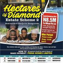 Plots of Land for Sale beside new shoprite at Sangotedo Lagos