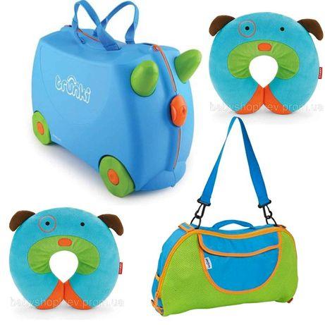 Набор чемодан и сумка Trunki 74adc147da603
