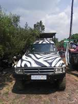 Toyota Zebra Game Drive Bakkie For Sale