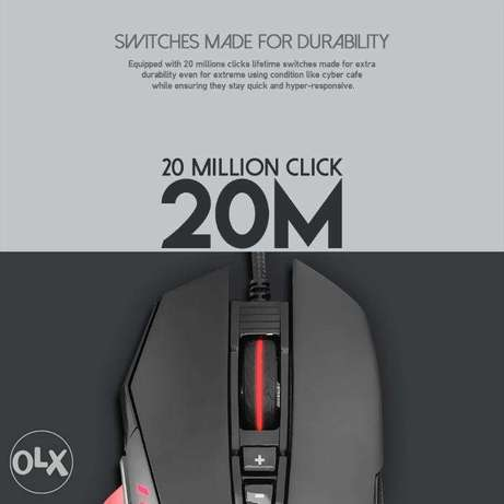 Fantech X11 DAREDEVIL Gaming Mouse دكوانة -  4