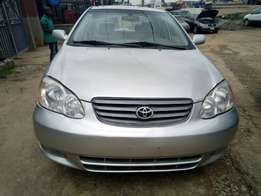 just arrived 2003/04 Toyota Corolla #tokunbo with good usage history