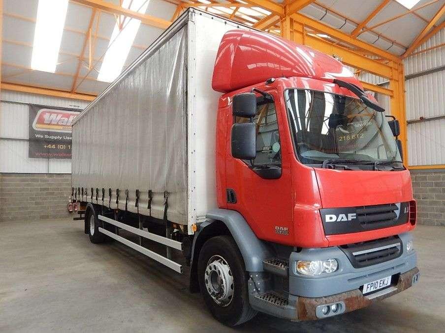 DAF Lf55 4 X 2, 18 Tonne Curtainsider – 2010 - Fp10 Ekj - 2010