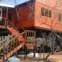 Best wooden house for sale and quality