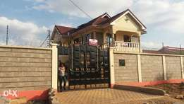 fantastic new 4bedroom all ensuit to let in Thika Section 60k r