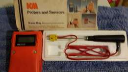 Kane May high quality electronic digital thermometer+K probe in box