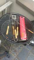 57cm Braai stand with wheels