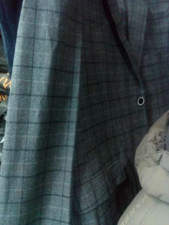 Navy Blue Checked suits for men. Smoothly polished wool. FREE DELIVERY Nairobi CBD - image 5