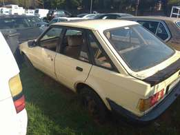 Ford escort Mk3 body with papers