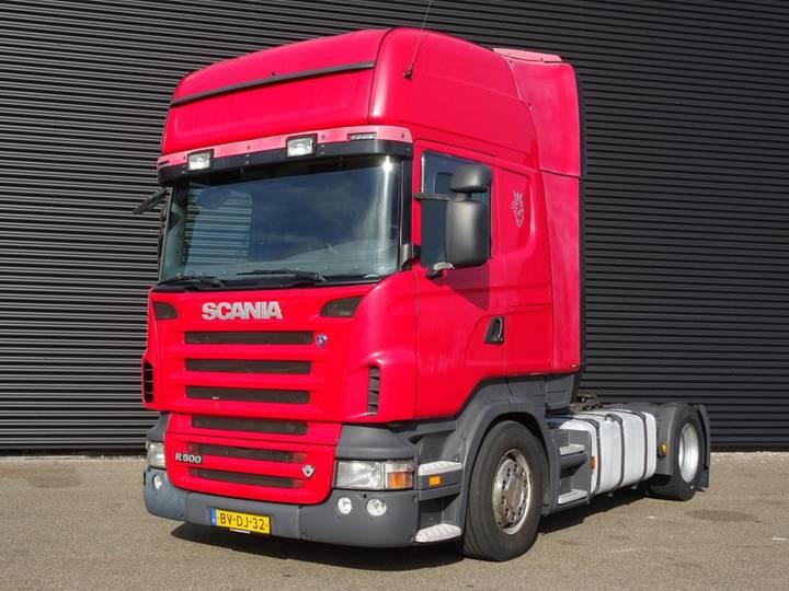 Scania R500 TOPLINE / RETARDER / FULL AIR SUSPENSION - 2008