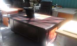 Antique executive desk