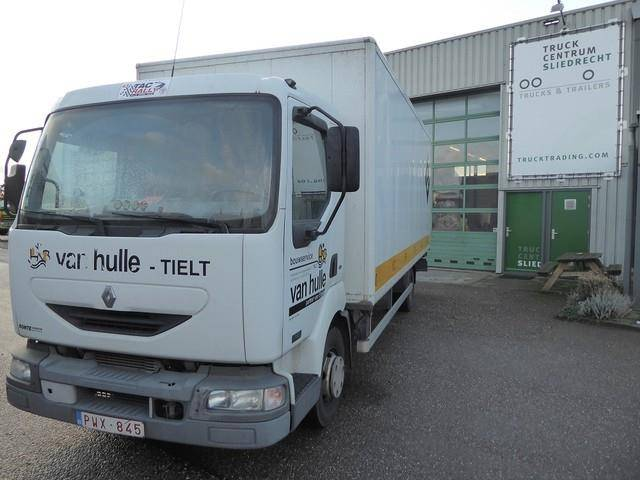 Renault Midlum 9.180,manual,blattfederung,steelsuspension - 2004
