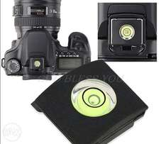 Flash Hot Shoe Cover Cap Bubble Spirit Level For Canon For Nikon Olymp