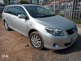 Toyota fielder, 1500cc, 2010,2wd, alloyrims,cd player, trade in ok