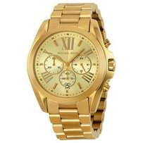 Michael Kors Bradshaw Chronograph Gold-tone Unisex Watch MK5503