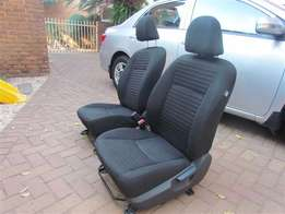 2 x Front Seats for Corolla 2013 Professional (Will fit 2008 to 2013)
