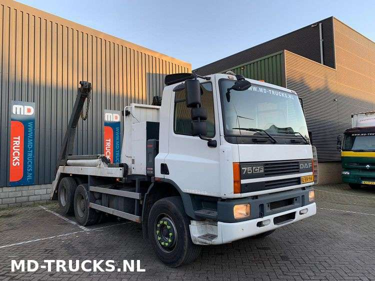 DAF CF 75 290 manual 6x2 steel NL - 2001 - image 2