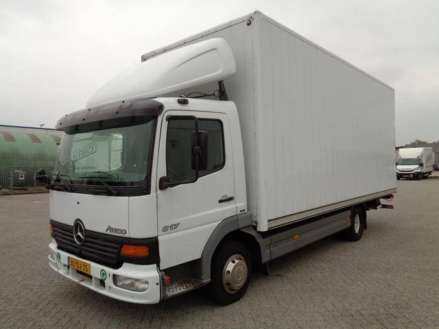 Mercedes-Benz ATEGO 817 L, Tail Lift, NL Truck, TOP!! - 2000