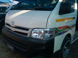 2012 Toyota Quantum 2.5 D4D sesfikile in good condition