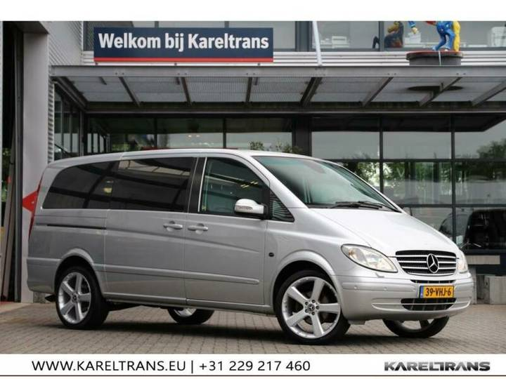 Mercedes-Benz Vito 120 CDI V6 | DC | Lang | MARGE, Géén BTW!! - 2007