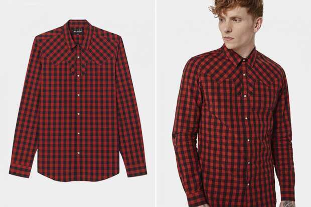 5601c51efd8547a Мужская рубашка в клетку: 300 грн. - Мужская одежда Алексеевка на Olx