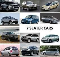 7 seater car wanted