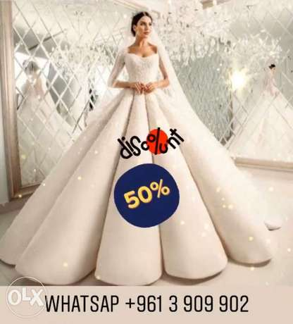 50% off on Wedding & Evening Dresses