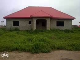 3 bedroom bungalow at CAJAAH Estate, phase 2. Orozo Abuja.