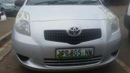 Toyota yaris t3 with aircon