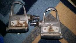 Shimano racing bicycle pedals for sale