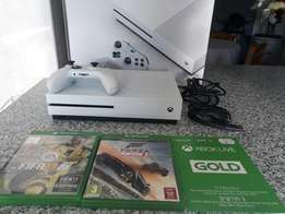 Brand new Xbox one s +2 games and 3 months Xbox live gold