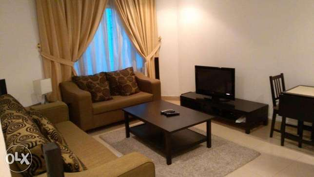 Sea views furnished 2 bedroom apt in mahboula.
