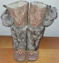 1b863c34cfe13 Emu Mukluki Śniegowce kozaki ocieplane z futerkiem i pomponami nowe