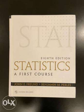 statistic: first course