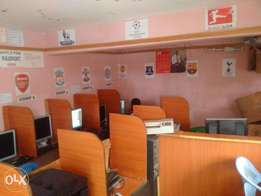 cyber cafe on sale at embakasi south, pipeline