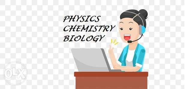 Physics, Chemistry, Biology lessons at affordable rates