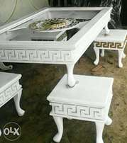Luxury Versace design Center tables and side stool