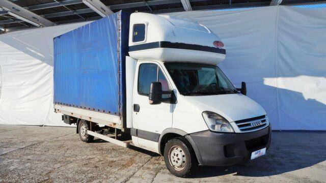 Iveco DAILY 34S14 PRITSCHE+PLANE 8PAL./ STANDHEIZUNG - 2007