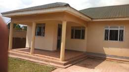Three bedroom stand alone house for rent in najera at 750k