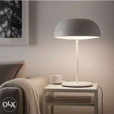 IKEA 2 table light metallic انارة عدد ٢ جدة -  2