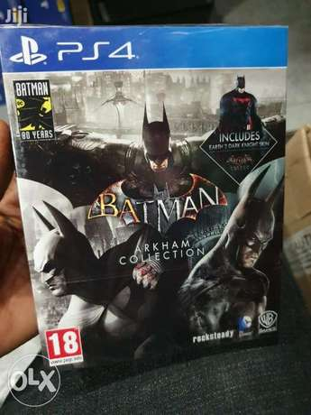 Batman Arkham Collection Ps4 (New!)