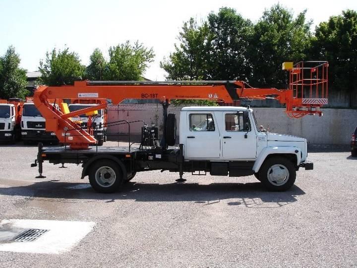 ГАЗ new vs 18t na shassi  33098 bucket truck - 2019