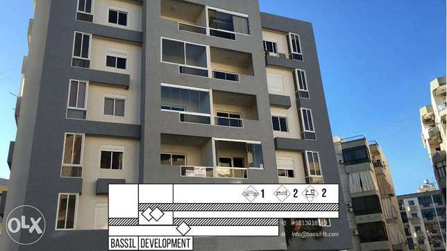 2 bedroom apartment located on the Main road of Zouk Mikael and Kaslik