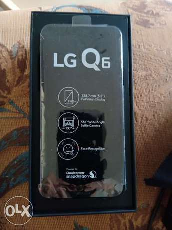 LG Q6 mobile phone for sale