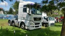 Man Transist Head Truck 2010 model on hirepurchase