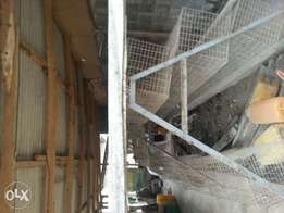 Used layers cage for hens.