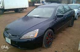 Registered Honda Accord (EOD V6 Engine) - 2005
