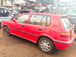 STRIPPING FOR SPARES 1999 1.3 Toyota Conquest 5 door