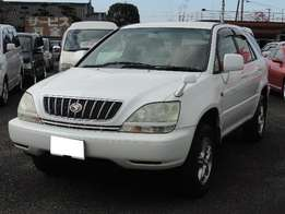 Toyota Harrier 2002 ( Fresh Car Only Used In Japan)